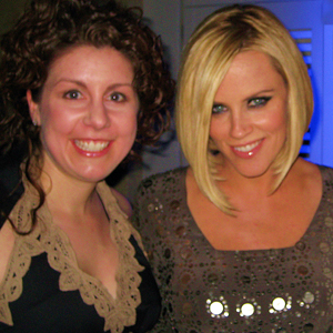 Danielle with Jenny McCarthy