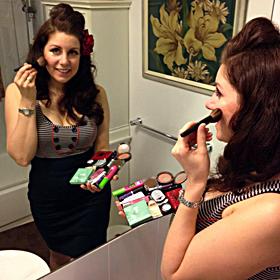 portable makeup station