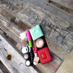 Makeup doesn't fall through the cracks when camping or at a picnic