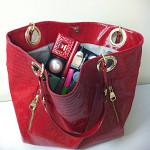 Makeup is easy to find inside your handbag