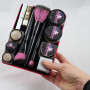 Pink Diva (6″ x 8″) Beauty Butler Filled with Makeup & Brushes