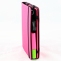 Beauty Butler binder side view pink